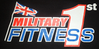 Military 1st Fitness Logo